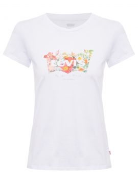Camiseta Feminina The Perfect Tee - Branco - Levis Womens