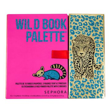 Paleta De Olhos E Face Sephora Collection Wild Bood