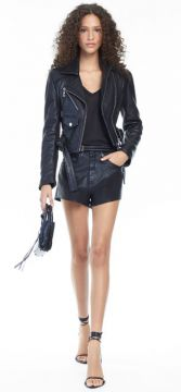 Short Box Barra A Fio Likeleather Color - Animale
