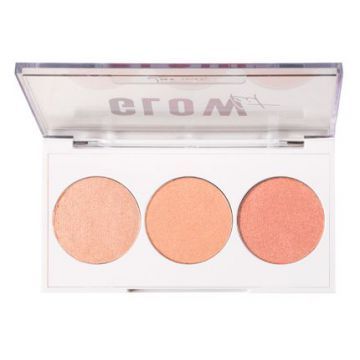 Paleta De Iluminadores Luv Beauty - Glow Kit - 1un
