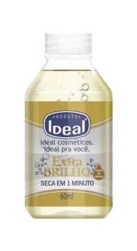 Base Para Unha Extra Brilho óleo De Argan 60ml Ideal