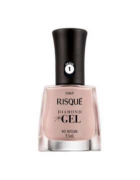 Esmalte Diamond Gel Noz Moscada 9,5ml Risqué
