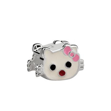 Berloque Hello Kitty de Prata Moments - Prata