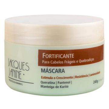 Máscara Fortificante Jacques Janine 240g - Incolor