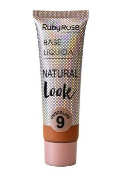 Base Líquida Natural Look Chocolate Ruby Rose L9 - Incolor