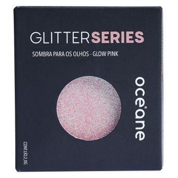Sombra Océane Glitter Series Glow Pink - Incolor