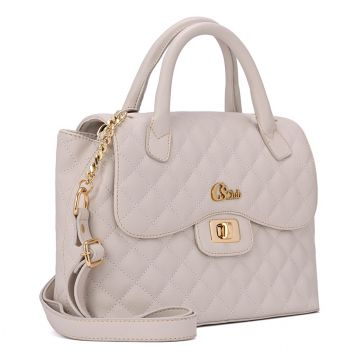 Satchel Bag Off-White - Carmen Steffens