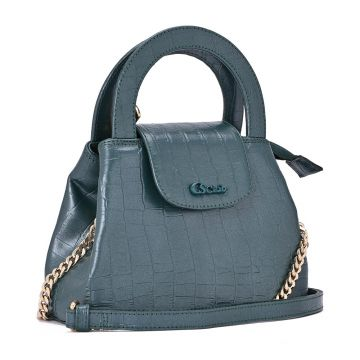 Mini Bag Metalic Green - Carmen Steffens