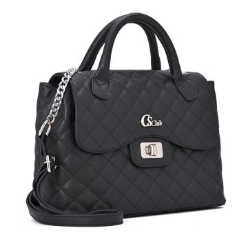Satchel Bag Black - Carmen Steffens