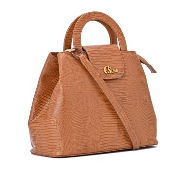 Essential Leather Bag Brown - Carmen Steffens