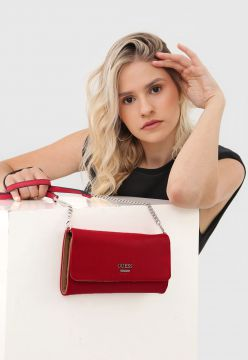Clutch Guess Corrente Vermelha