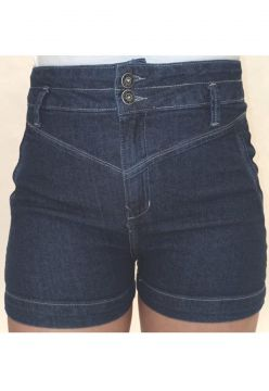 Short Jeans Feminino Curto Fit Crocker - 47976