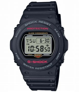 RELOGIO G-SHOCK DIGITAL DW-5750E-1DR