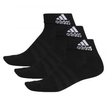 Meia Adidas Cushioned Ankle 3 Pares