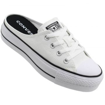 Mule All Star Lift Feminino All Star Branco