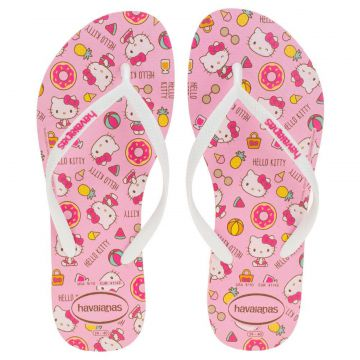 CHINELO FEMININO SLIM HELLO KITTY HAVAIANAS - 4145748