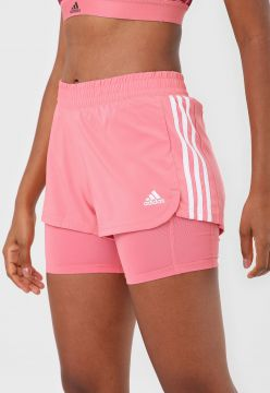 Short adidas Performance Pacer Rosa