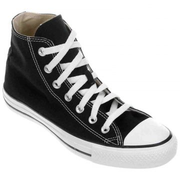 Tênis All Star Converse Chuck Taylor Cano Longo CT0004 Pret