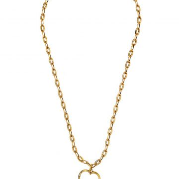 Colar Chain Luck Ouro Vintage Colar Chain Luck Ouro Vintage