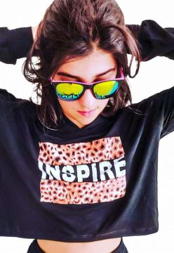 Blusa Cropped Inspire