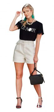 Short Lily Belle Off-White