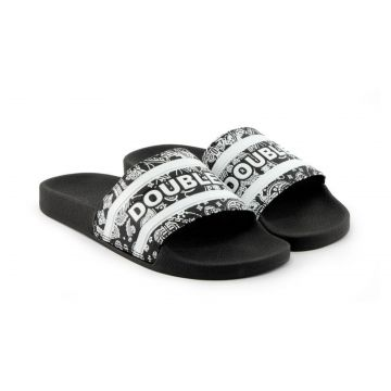CHINELO DOUBLE-G SLIDE - PRETO PASLEY - N°33/34