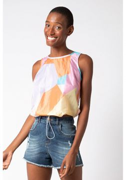 Cropped Mercatto Cropped Rosa