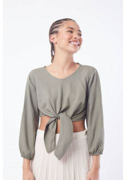 Cropped Mercatto Cropped Verde