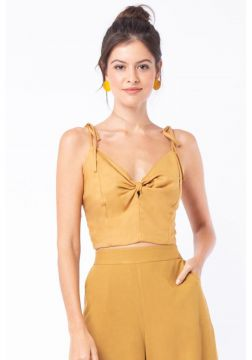 Cropped Mercatto Cropped Amarelo