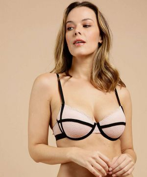 Sutiã De Renda Feminino Push Up Marisa
